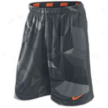 Nike Distravtion Fly Short - Mens - Anthracite/total Orange