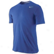 Nike Dri-fit Cotton Version 2.0 T-shirt - Mens - Varsity Royal