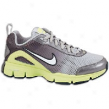 Nike Dual Fusion Tr 2 - Big Kids - Metallic Silver/metallic Dark Grey/volt/white