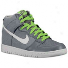 Nike Dunk Hi - Mens - Wolf Grey/white/cool Grey