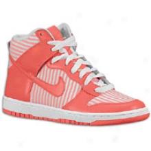 Nike Dunk High Skinny - Womens - Hot Punch/white/hot Punch