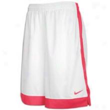 Nike Dura Moeny Short - Womens - White/spark