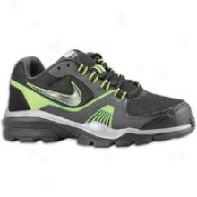 Nike Edge 11 Trainer - Big Kids - Black/anthracite/metallic Cool Grey/black