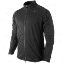 Nike Elemment Shield Full Zip Jkt - Mens - Black/reflective Sulver