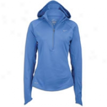 Nike Rudiments Thermal Hoodie - Womens - Mega Blue/reflective Silver