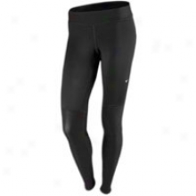 Nike Elemen5 Warm Tight - Womens - Black/matte Silver