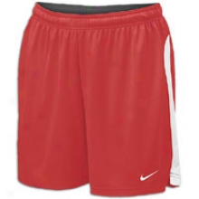 "Nike Elite 7"" Short - Womens - Scarlet/white/white"