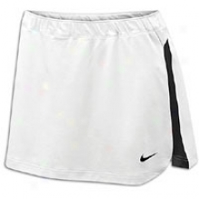 Nike Elite Kilt - Womens - White/white/black