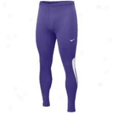 Nike Essential Fuse Tight - Mens - Purple/white/white