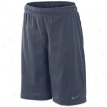 Nike Essentials Mesh Youth Short - Big Kids - Obsidian/anthracite