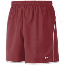 "Nike Fc 6"" Short - Mens - Cardinal/white/white"