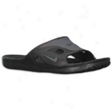 Nike First String Slide - Mens - Black/flint Grey