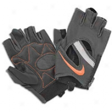Nike Qualified Elite Training Glove - Womens - Anthracite/bright Corsl