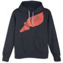 Nike eFetfoot Pullover Hoodie - Mens - Dark Obsidian