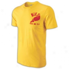 Nike Fleetfoot T-shirt - Mens - Varsity Maize