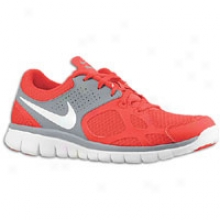 Nike Flex Run - Mens - University Red/cool Grey/white