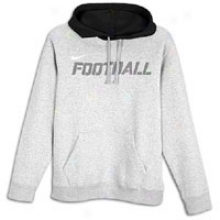 Nike Football Graphic Hoodie - Mens - Dark Grey Heather