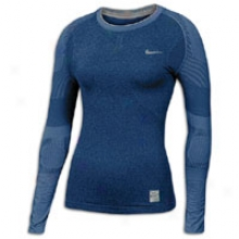 Nike Fp Players L/s Head - Womens - Navy/white