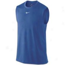 Nike Franchise Mesh S/l Top - Mens - Varsity Royal/white