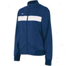 Nike Franchise Warm-up Jacket - Womens - Navy/white/white
