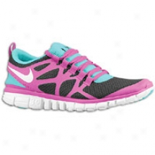 Nike Free 3.0 V3 - Womens - Black/white/bright Turquoise/vivid Grape