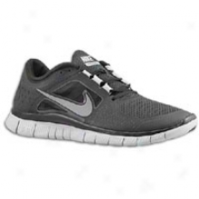 Nike Free Run + 3 - Mens - Blwck/wolf Grey/refect Silver