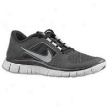 Nike Free Run + 3 - Womens - Black/wolf Grey/reflect Silver
