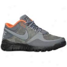 Nike Generous Trainer 1.3 Mid Winter - Mens - Dark Grey/cool Grey/total Orange/blue Glow