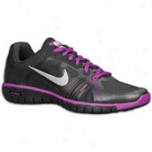 Nime Free Xt Move Fit - Womens - Blackvivid Grape/anthracite/metallic Silver