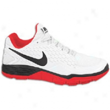 Nike Free Zilla Trainer - Mens - White/sport Red/black