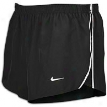 "Nike Fundamental 2"" Split Short - Mens - Black/matte White"