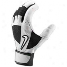 Nike Fuse Batting Gloves - Mens - Flint Grey/black/white