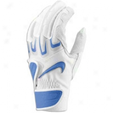 Nike Fuse Elite Batting Gloves - Mens - White/royal/royal