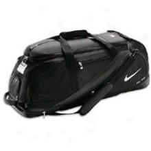 Nike Fuse Roller Bag - Black/black/silver