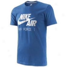 Nike Futura Af1 Mark S/s T-sht - Mens - Light Mega Blue
