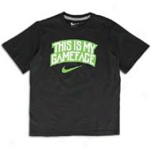 Nike Game Face S/s T-short - Big Kids - Black