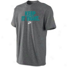 Nike Graphic T-shirt - Mens - Charcoal Heather/fresh Water