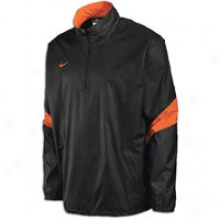 Nike Halfback Pass Pullover - Mens - Blacm/orange/orange