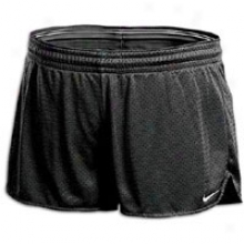 "Nike Hero 3.5"" Mesh Short - Womens - Black"