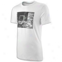Nike Hoop Dreams S/s T-shirt - Mens - White