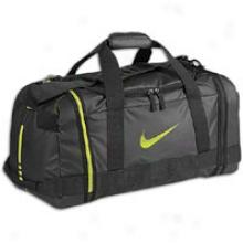 Nike Hoops Elite Medium Duffle - Black/black/cyber