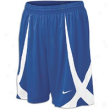 "Nike Horns 11"" Game Short - Mens - Royal/white/white"