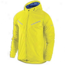 Nike Hurricane Vapor Jacket - Mens - Electrolime/old Royal/reflective Silver