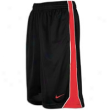 Nike Hustle Dri-fit Short - Mens - Black/varsity Red/white