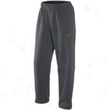 Nike Hustle Flight Fleece Pant - Mens - Anthracite/splrt Red