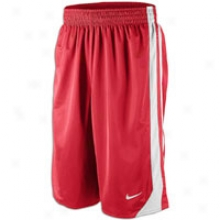 Nike Hustle Reversible Short - Mens - Varsity Red/ehite/varsity Red