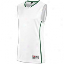 Nike Hyper Elite Jersey - Mens - White/dark Green