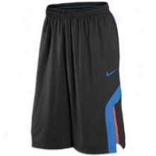 Nike Hyper Elite Short - Mens - Black/photo Bpue/team Orage/photo Blue