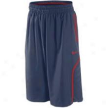Nike Hyper Elite Short - Mens - Obsidian/varsity Red
