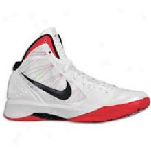 Nike Hyperdunk 2011 - Mens - Wite/sport Red/black